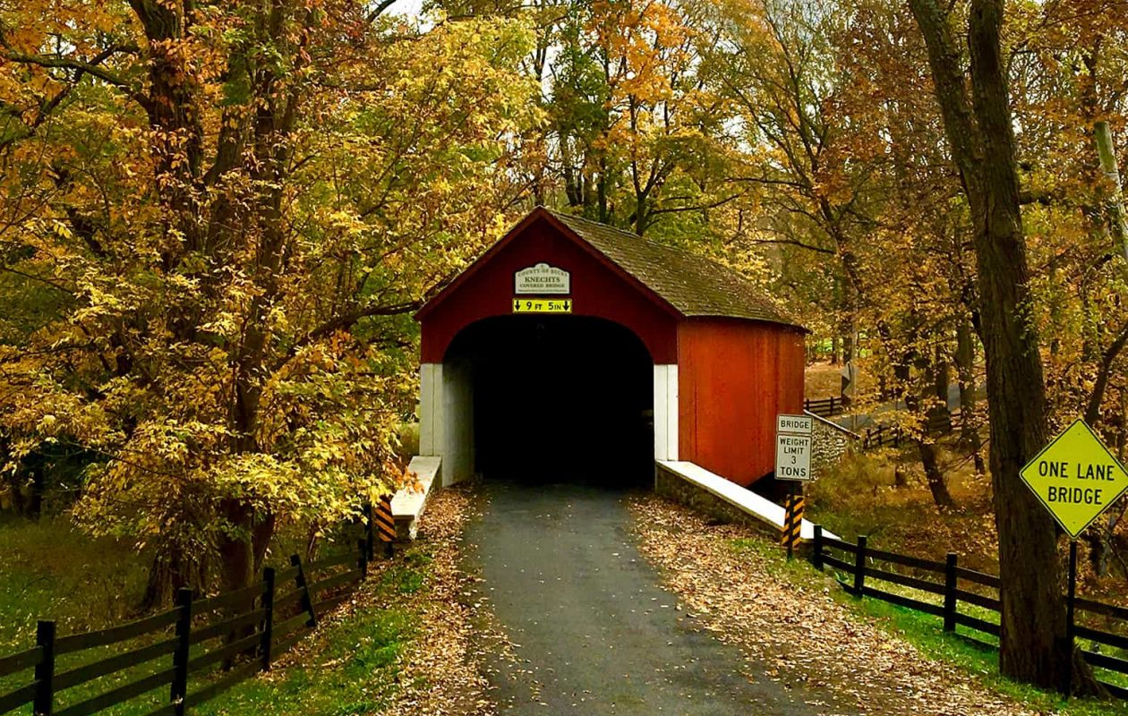 area covered bridge