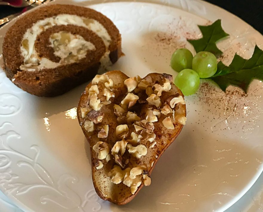 Baked Pear Breakfast